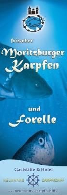 Karpfen- und Forellenzeit in Neumanns Dampfschiff