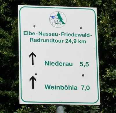 Radrundtour Elbe Nassau Friedewald