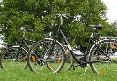 fahrradverleih in sörnewitz  bei meißen - für hausgäste im hotel neumanns dampfschiff